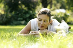 woman-on-grass